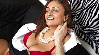Big breasted mom sucking and fucking in POV style