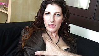 Naughty Mom fucking in POV style