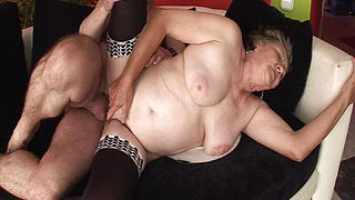 Granny wants stepson039;s hard cock