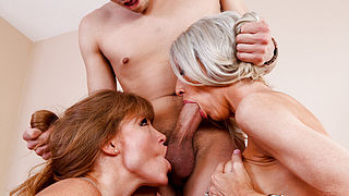 Darla Crane and Emma Starr and Xander Corvus in My Friends Hot Mom