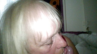 Granny Jan what a cock sucker
