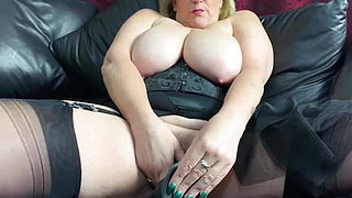 Plump Blonde Seducing Young Black boys in the UK.