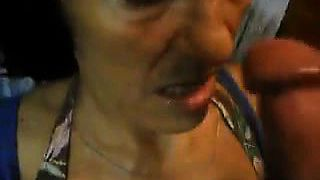 Adult cum in mouth granny