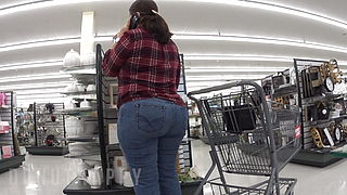 THICK AZZ MATURE PAWG HOBBY LOBBY (BENDOVER) PT1