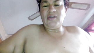 50YO MATURE MEXICAN WOMAN WITH YOUNG GUY