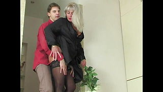 Young Lover And Lustful 51-year-old Grandma Elena
